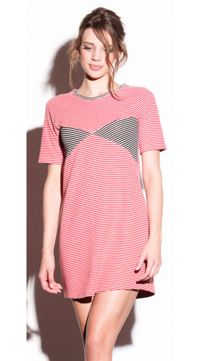 Loup striped bikini dress, now $90, available at Loup.