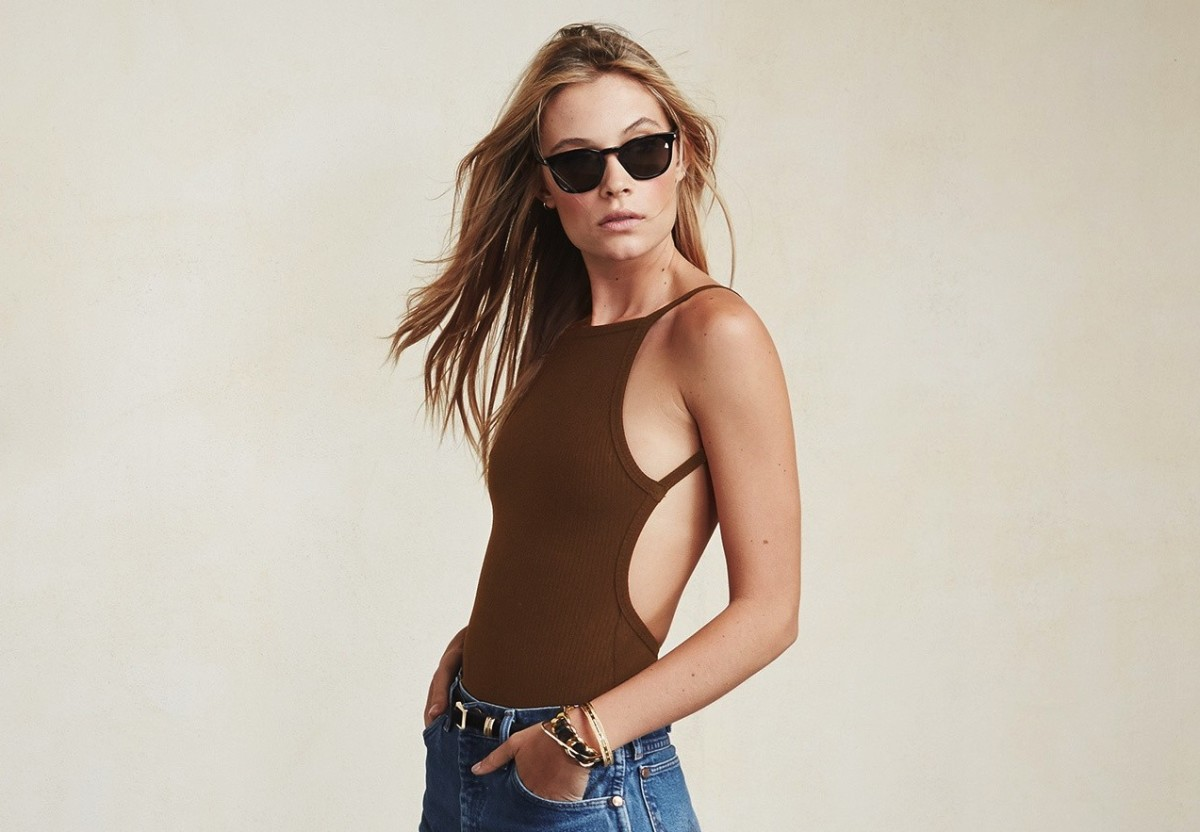 Jessa bodysuit, $68, available at Reformation.
