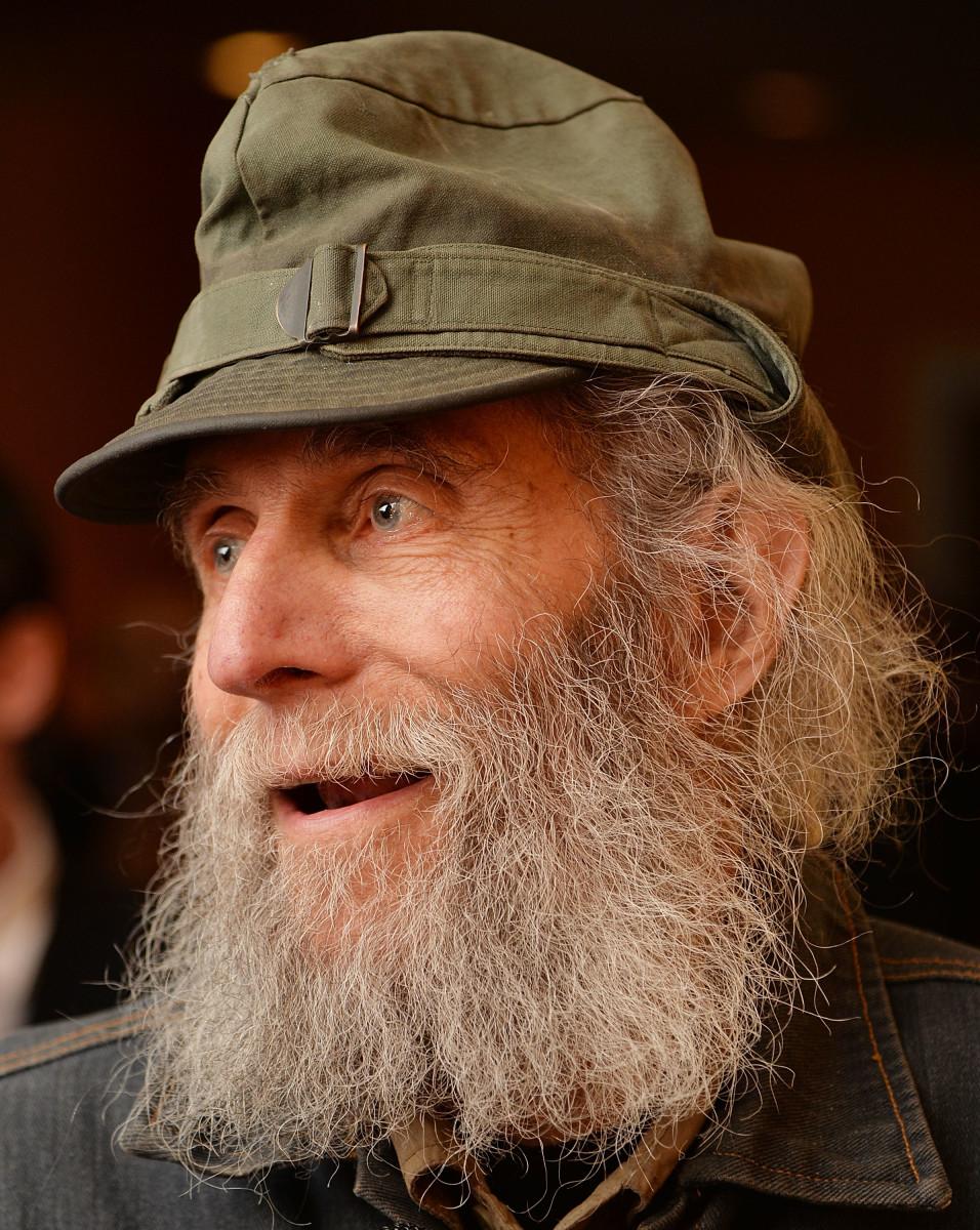"Burt Shavitz at the New York premiere of ""Burt's Buzz."" Photo: Andrew H. Walker/Getty Images"