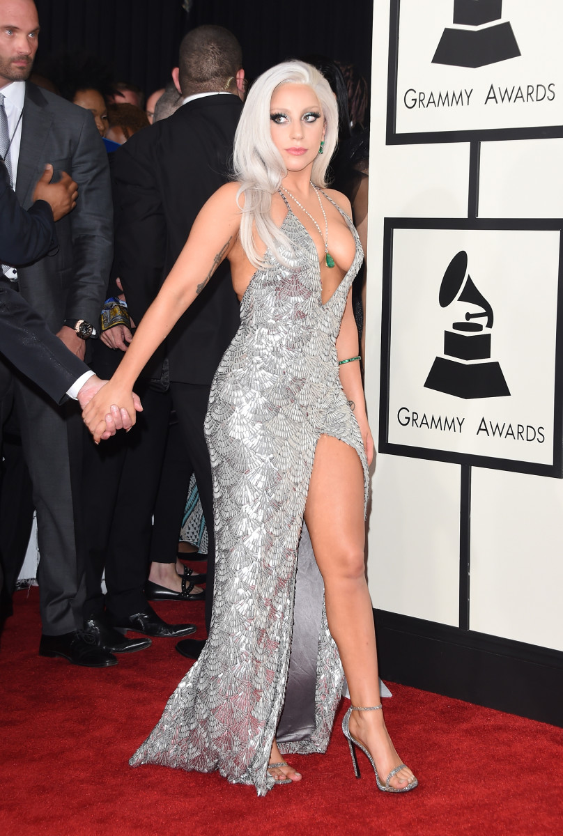 Lady Gaga at the Grammy Awards in February. Photo: Jason Merritt/Getty Images