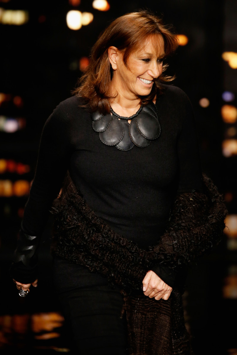 Donna Karan at her 30th anniversary show. Photo: JP Yim/Getty Images