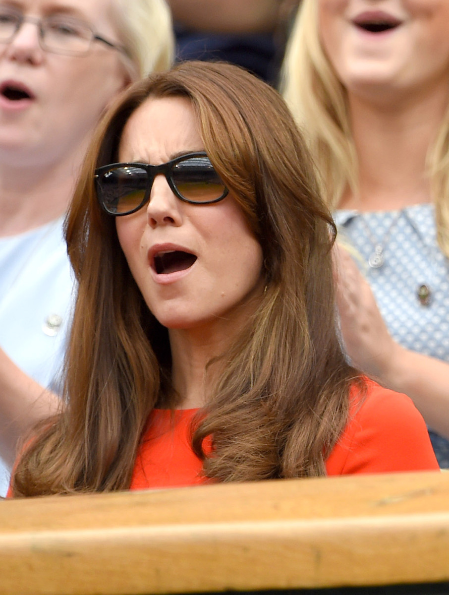 """Wait, is that Pippa over there with a better seat than mine?"" Photo: Karwai Tang/Getty Images"