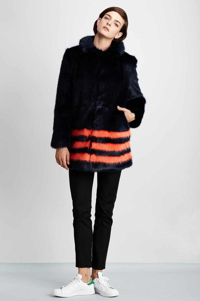 Shrimps faux-fur coat, $939, available at MyTheresa.