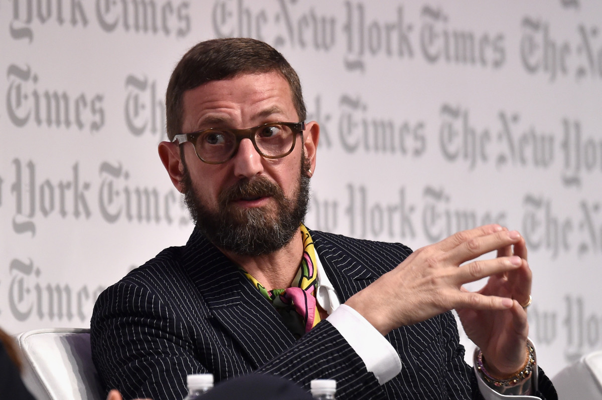 Stefano Pilati at the 'New York Times' International Luxury Conference last year. Photo: Larry Busacca/Getty Images