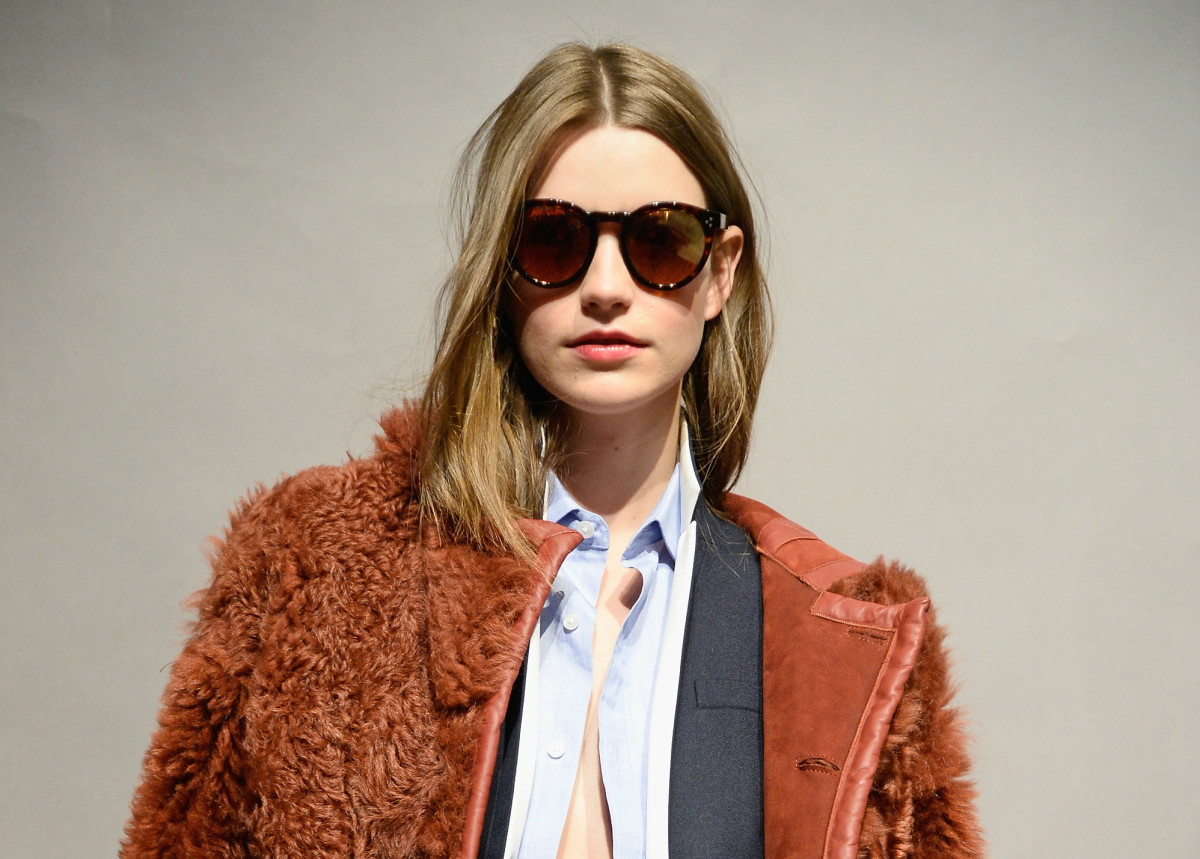 A look from J.Crew's most recent presentation. Photo: Fernanda Calfat/Getty Images