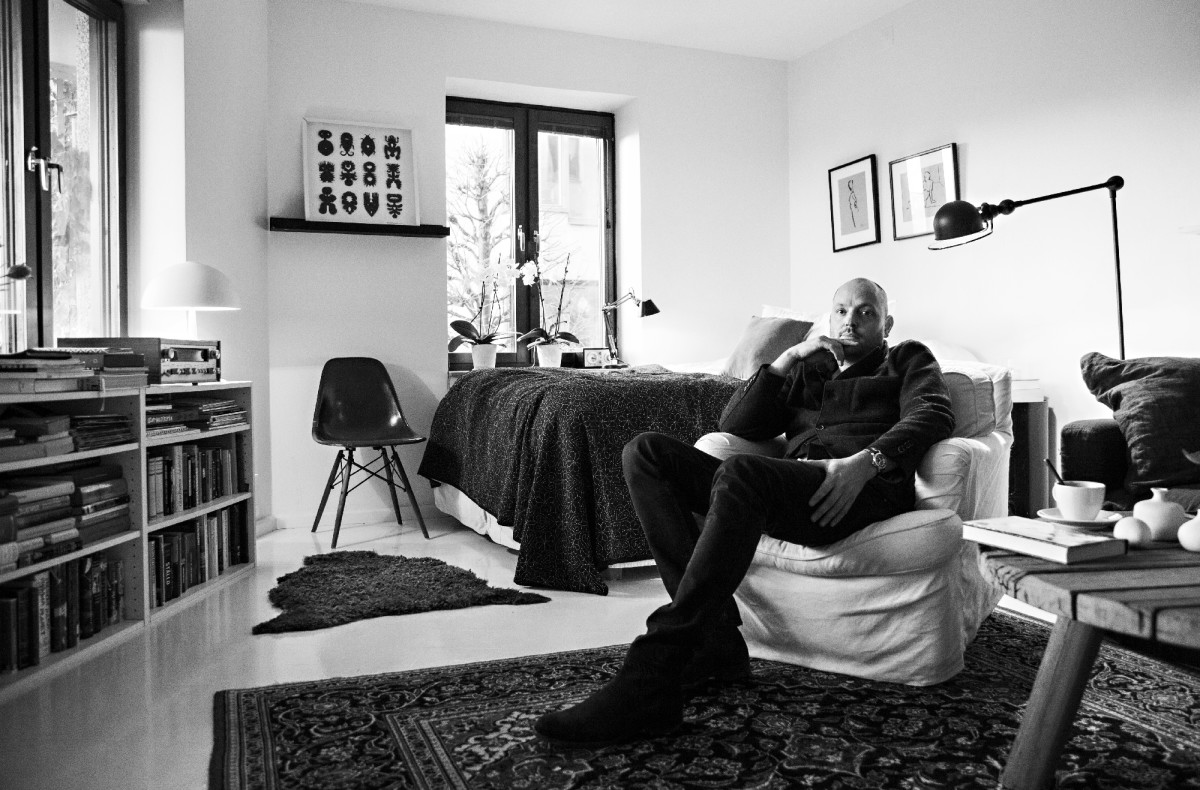 Alexander Stutterheim at home. Photo: Stutterheim