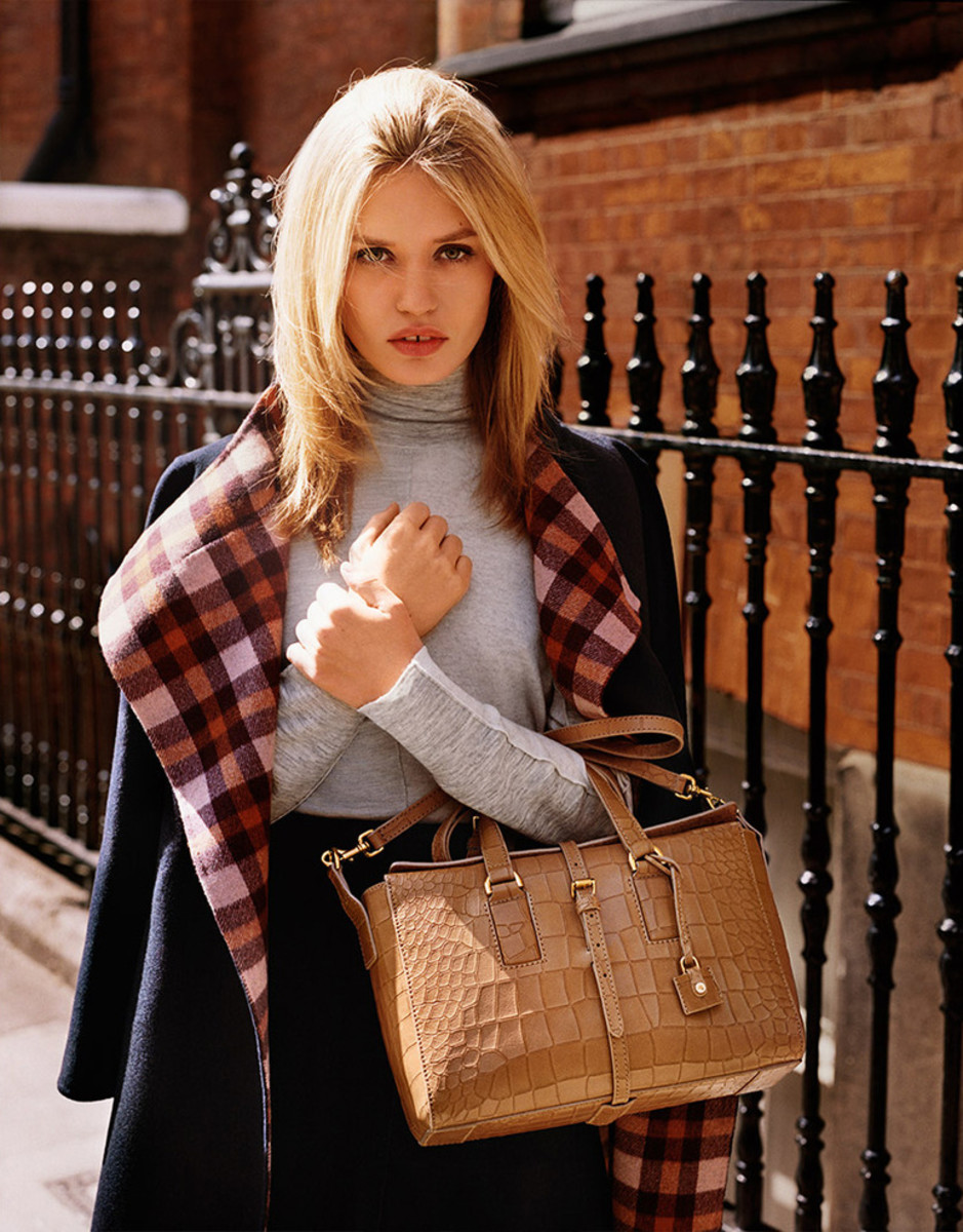 From Mulberry's fall 2015 campaign. Photo: Mulberry