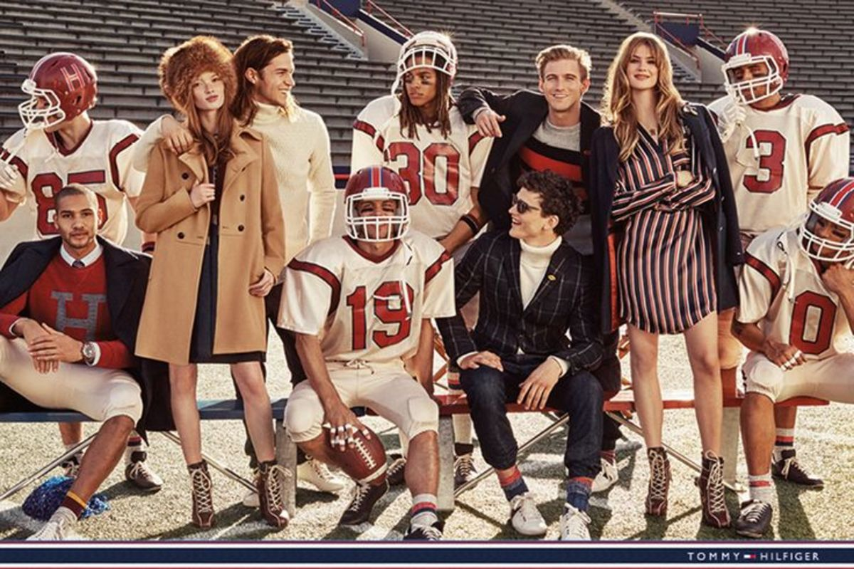 Tommy Hilfiger's fall 2015 campaign. Photo: Craig McDean/Tommy Hilfiger