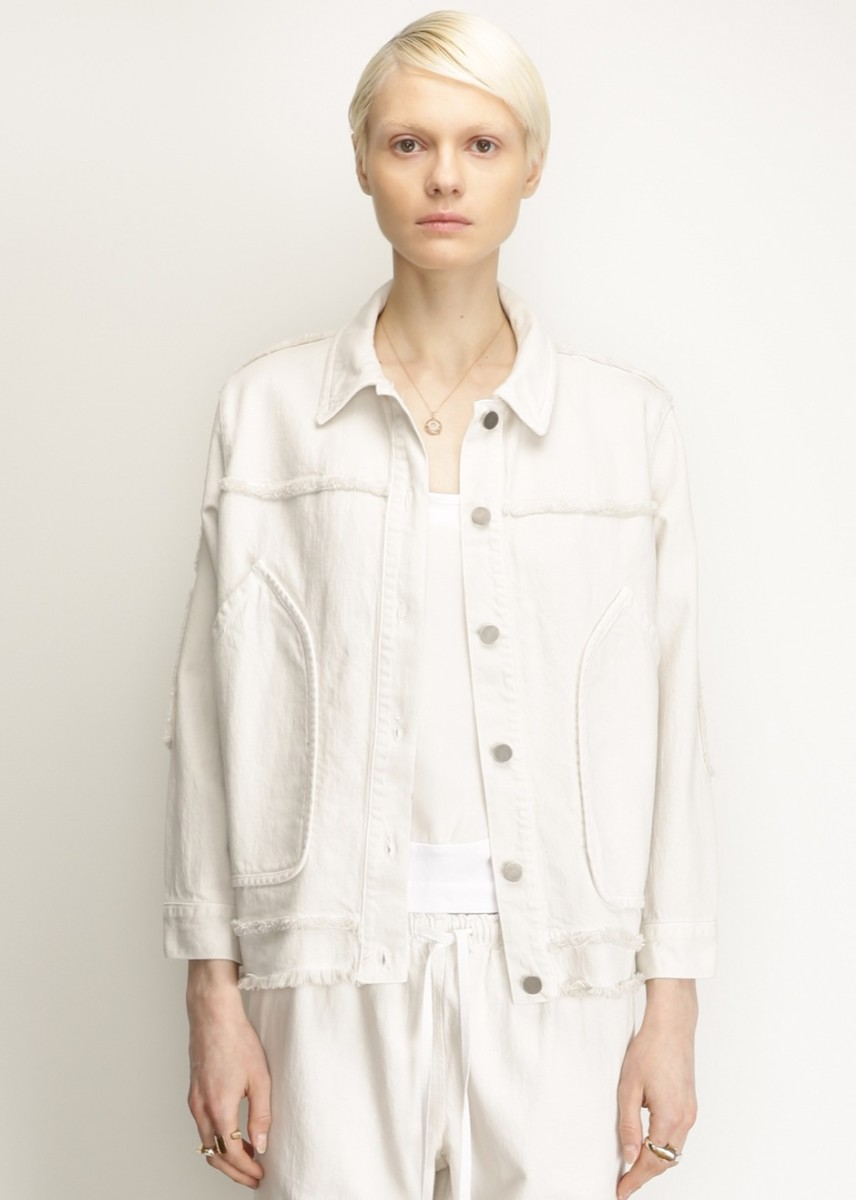 Rachel Comey Dirty White Parade Jacket, $408, available at Totokaelo.