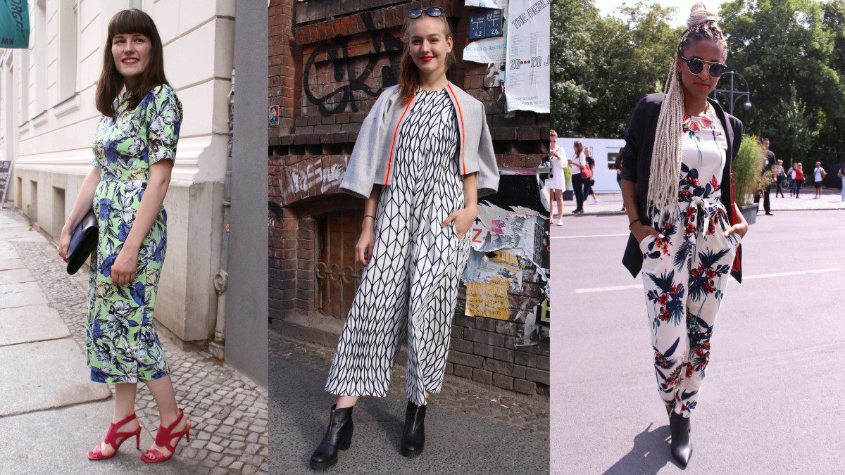 Seen on the street outside Berlin Fashion Week. Photos: Nilina Mason-Campbell/Fashionista
