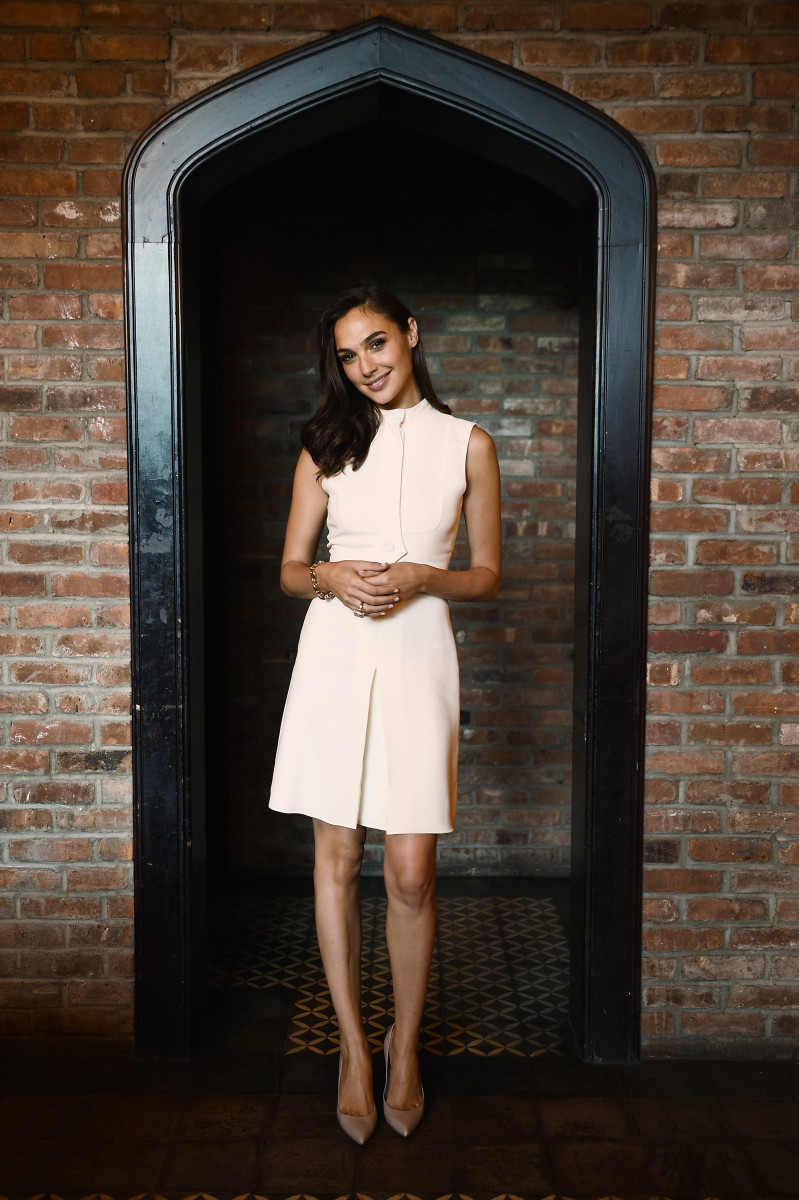 Gal Gadot at the Gucci Bamboo fragrance launch in New York City. Photo: Andrew H. Walker/Getty Images