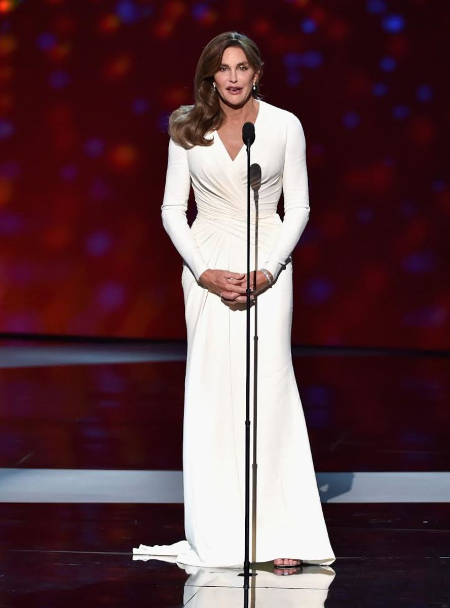 Caitlyn Jenner in Versace at the 2015 ESPY Awards. Photo: Kevin Winter/Getty Images