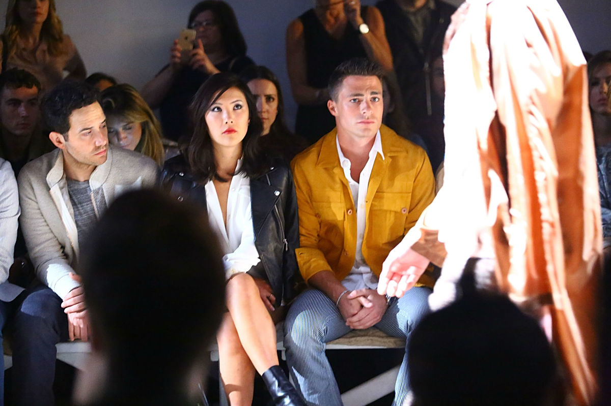 The front row at Billy Reid's recent show at New York Fashion Week: Mens. Photo: Astrid Stawiarz / Getty Images.