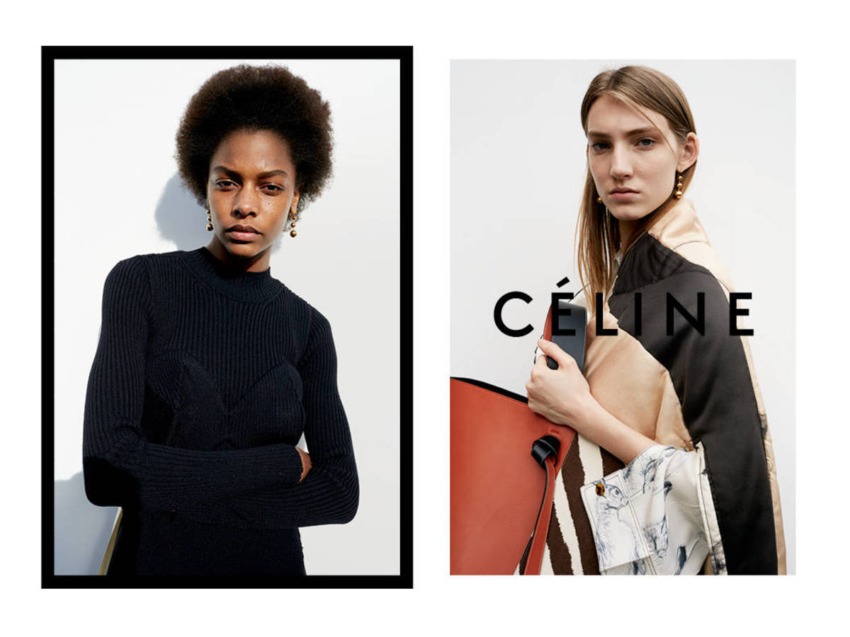 fec80ecb0bd3 Meet the Up-and-Coming Models in Céline s Fall Campaign - Fashionista