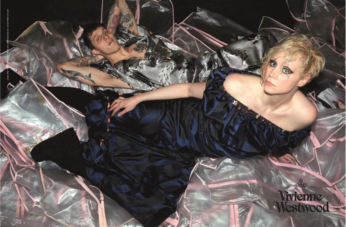 Vivienne Westwood's fall 2015 campaign. Photo: Vivienne Westwood