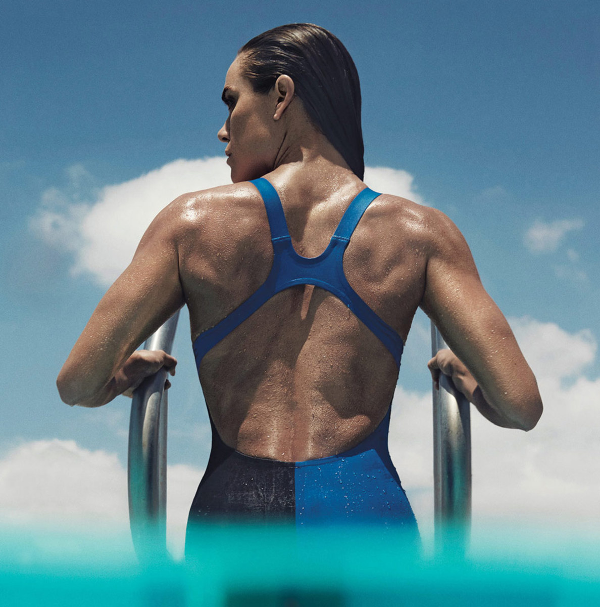 Swimmer Natalie Coughlin in 'Self.' Photo: Robbie Fimmano/Self