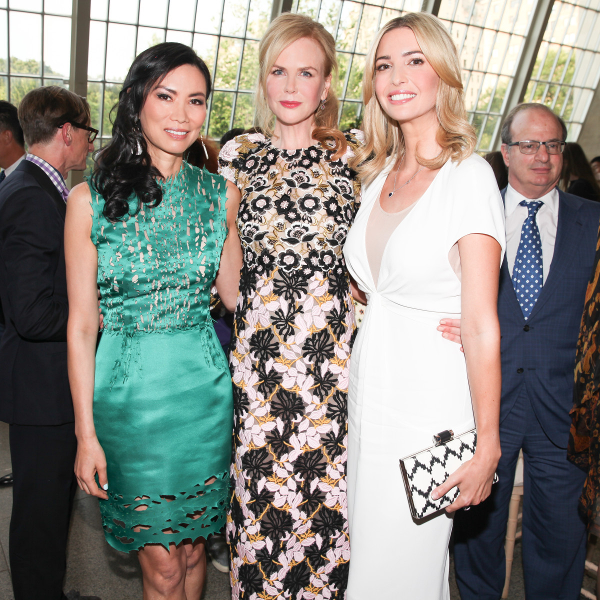 Wendi Murdoch, Kidman and Ivanka Trump. Photo: Vogue