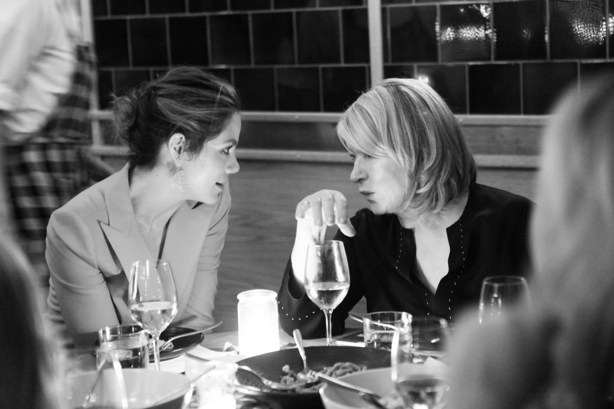 Michelle Monaghan and Martha Stewart. Photo: BFA