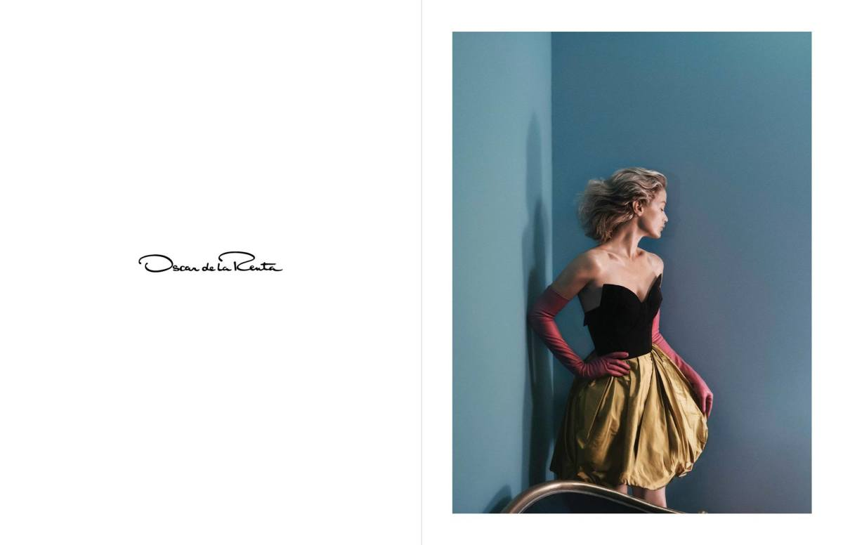 Carolyn Murphy Stars in Peter Copping\'s 1st Campaign for Oscar de la ...
