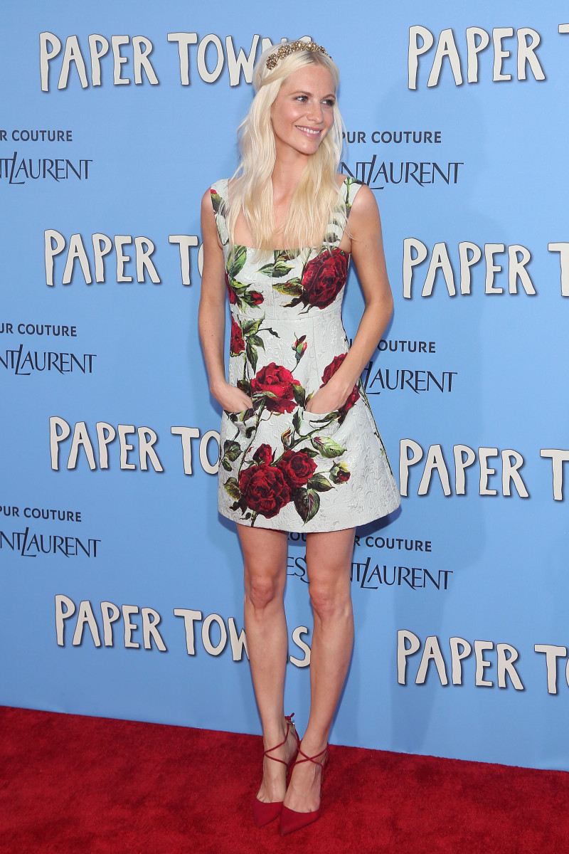 Poppy Delevingne in Dolce & Gabbana at 'Paper Towns''s New York premiere. Photo: Taylor Hill/Getty Images