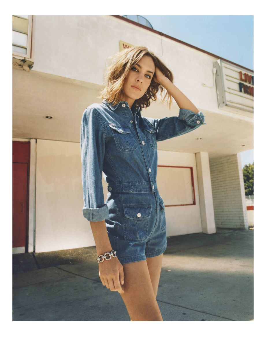 Alexa Chung's New AG Jeans Collection of Fall 2015 Alexa Chung's New AG Jeans Collection of Fall 2015 new picture