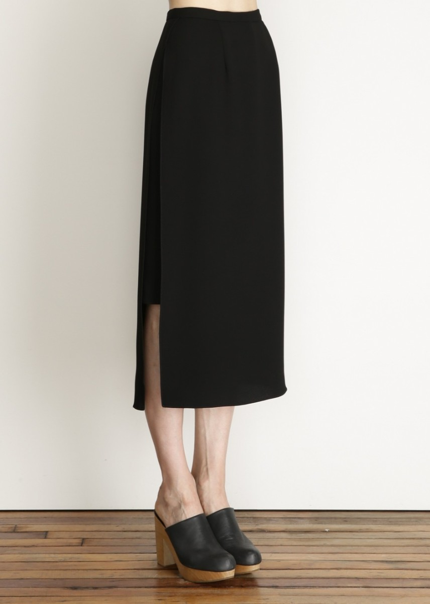 "Rachel Comey ""Warner"" skirt, $357, available at Rachel Comey (in navy) and Totokaelo (in black)."