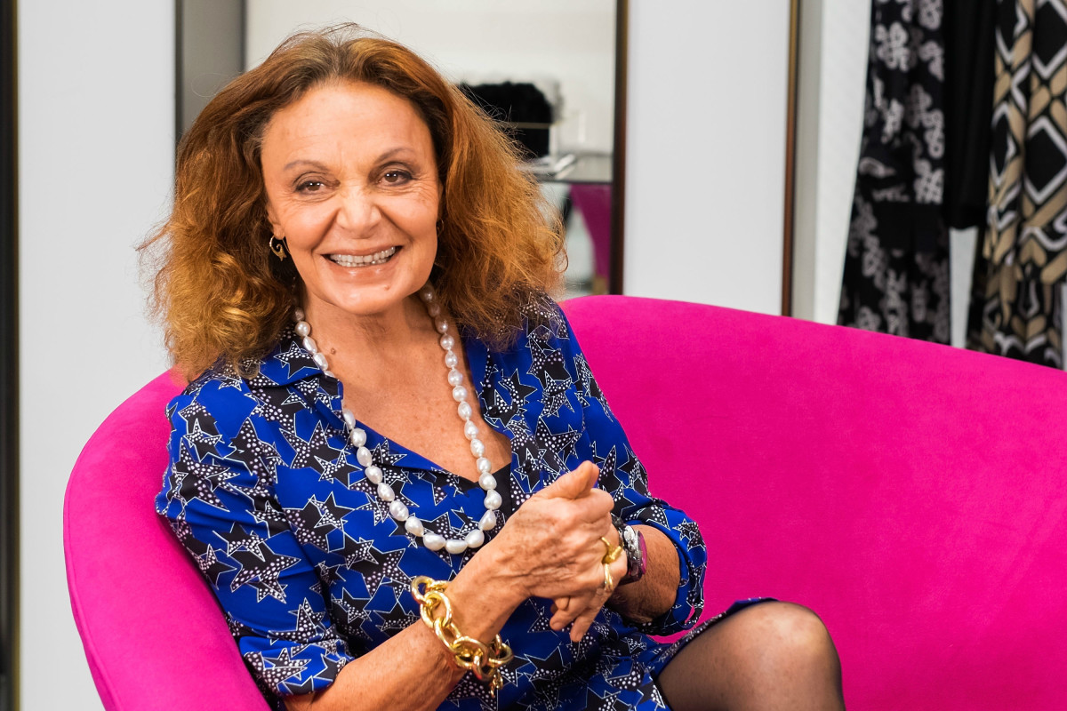 Diane von Furstenberg. Photo: Valerie Macon/Getty Images
