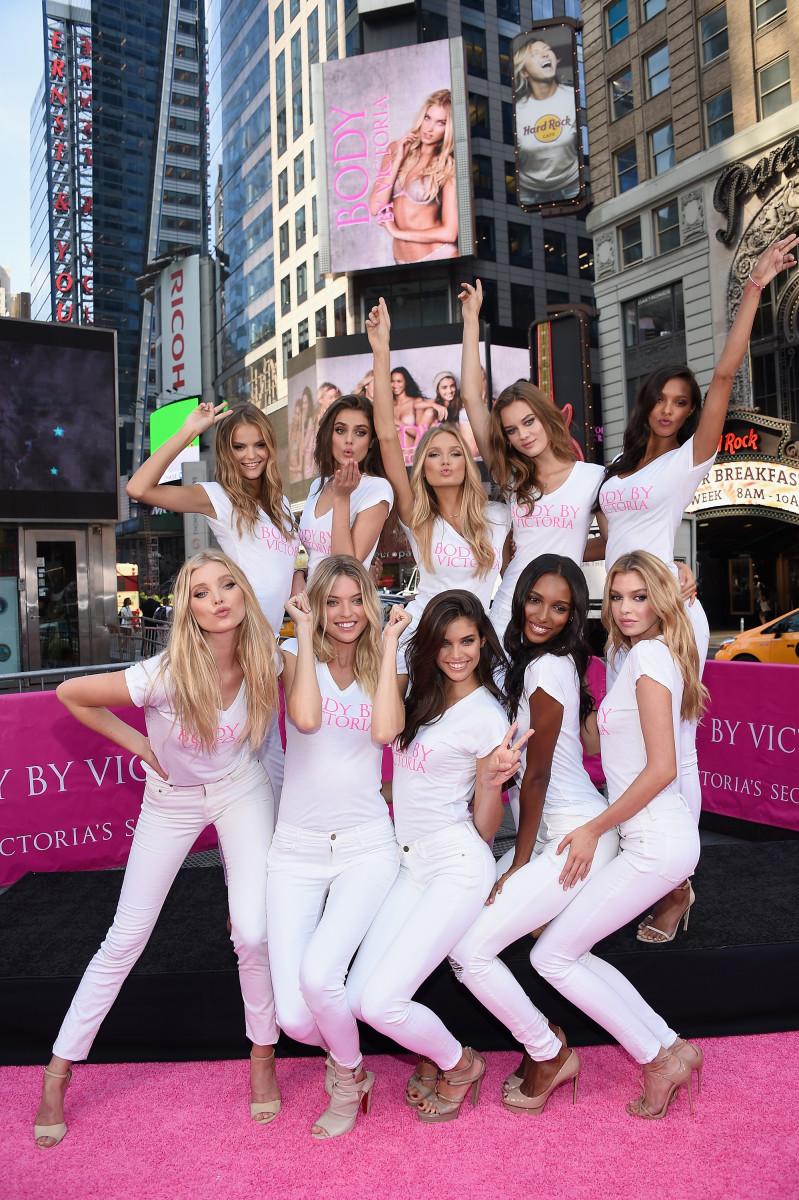Victoria's Secret's rookie Angels class. Photo: Victoria's Secret
