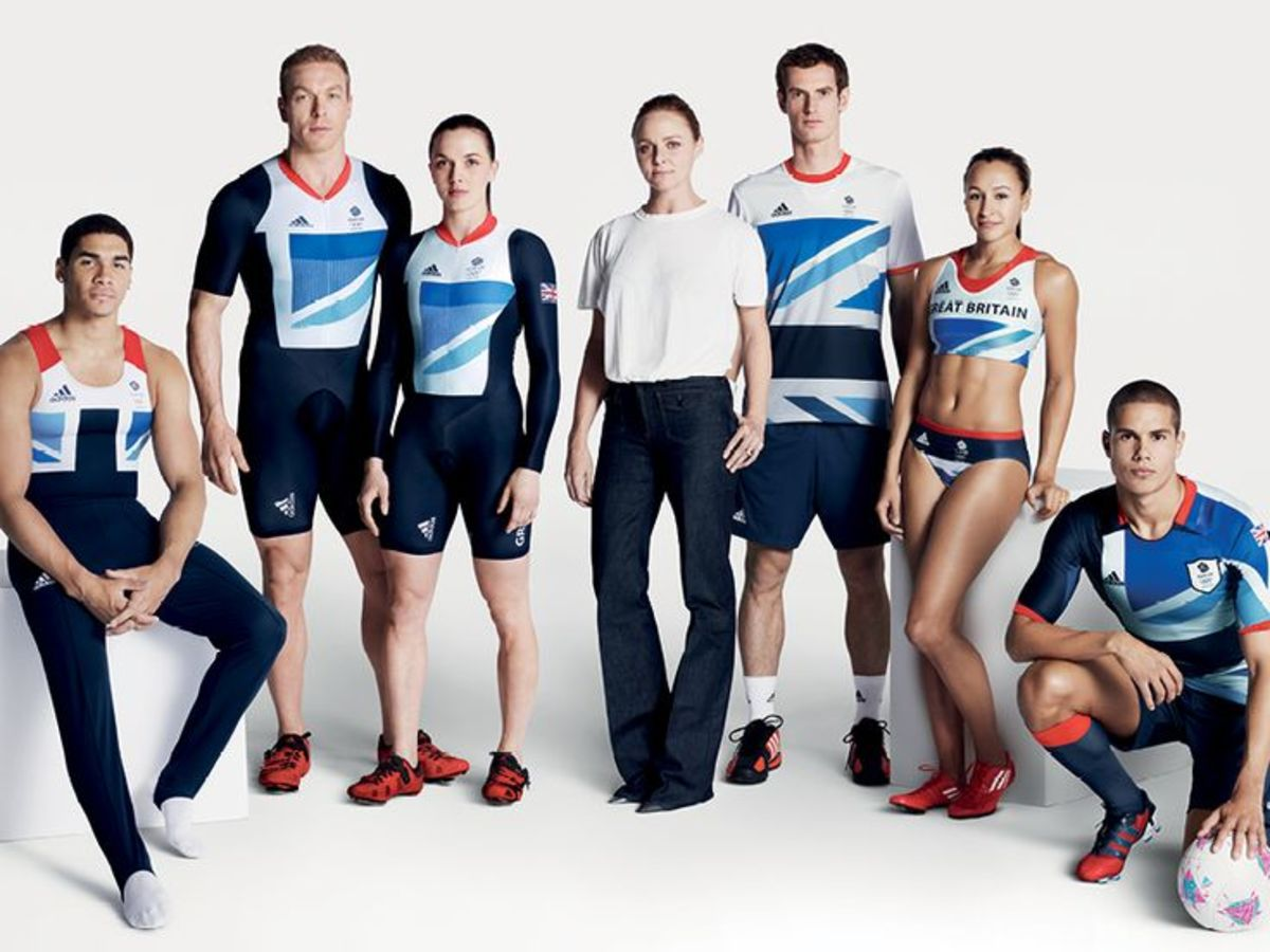 Stella McCartney and a portion of Team GB's Adidas performance apparel from the 2012 London Olympics. Photo: Courtesy of Stella McCartney