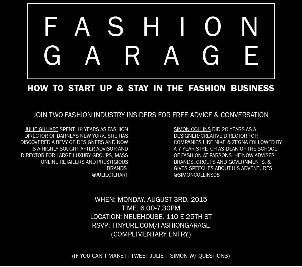 Image: Fashion Garage