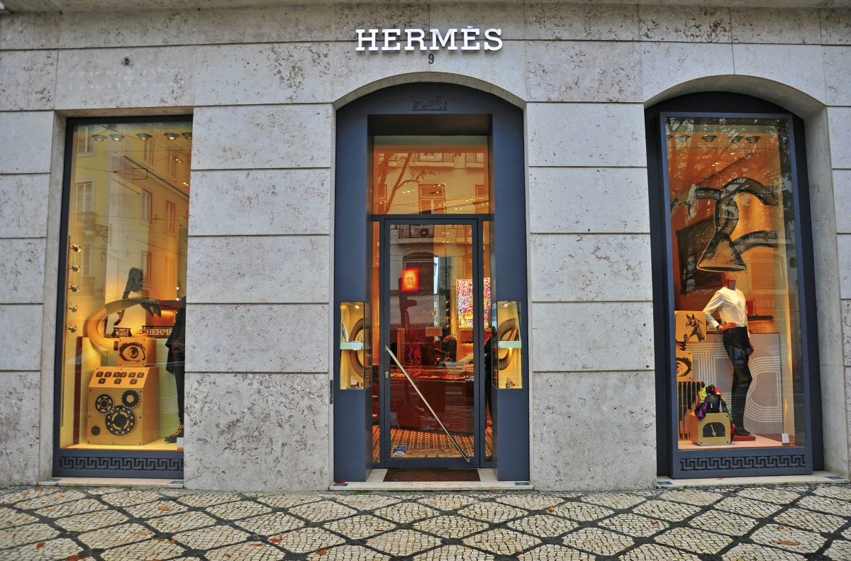 An Hermès store in Lisbon. Photo: iStock