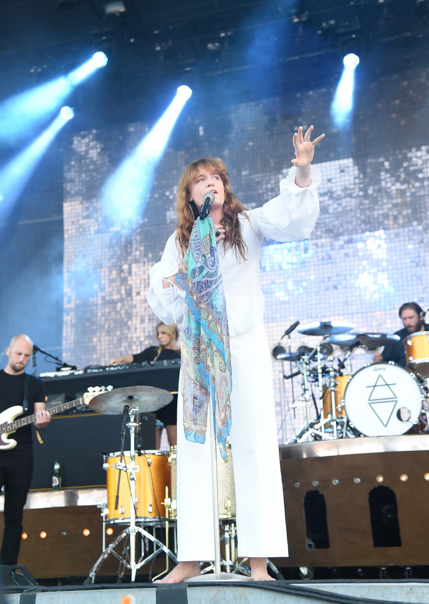 Florence Welch at Bonnaroo 2015. Photo: Jason Merritt/Getty Images