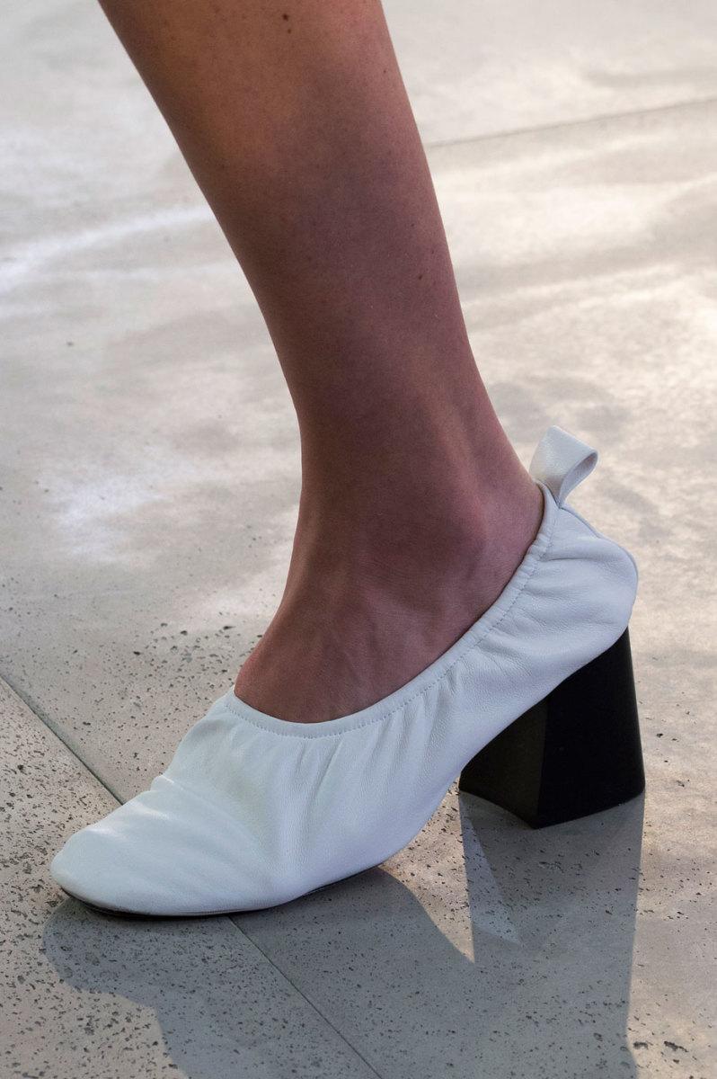 Celine's spring 2015 glove shoe. Photo: Imaxtree