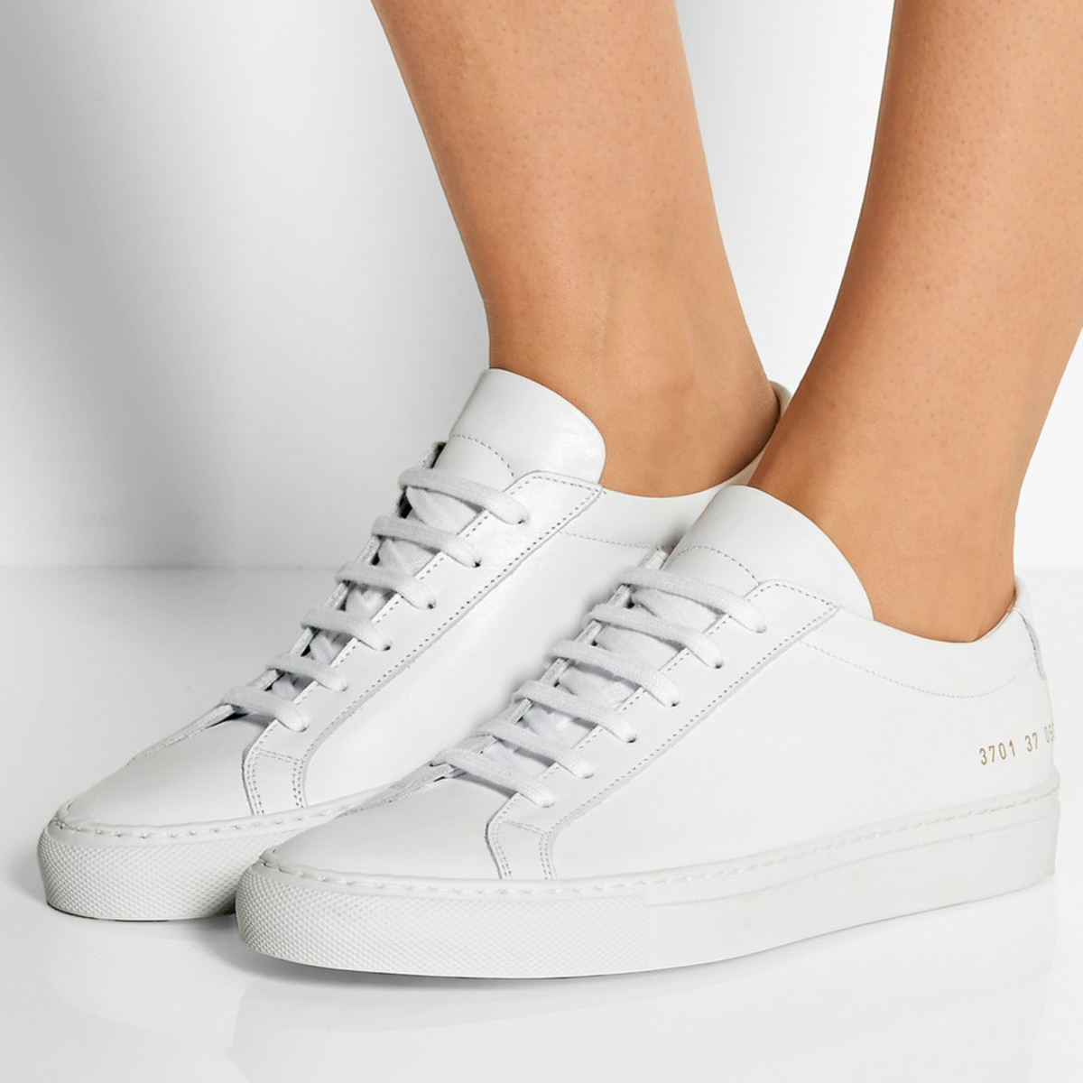 "Common Projects ""Original Achilles"" sneakers, $410, available at Net-A-Porter."