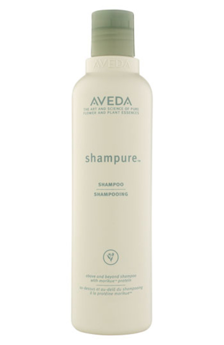 Aveda Shampure shampoo and conditioner, $13.50 each, available at Nordstrom.