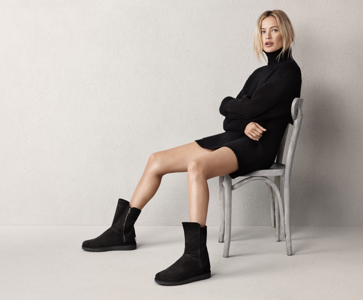 Who needs pants when you have comfy boots? Photo: Ugg