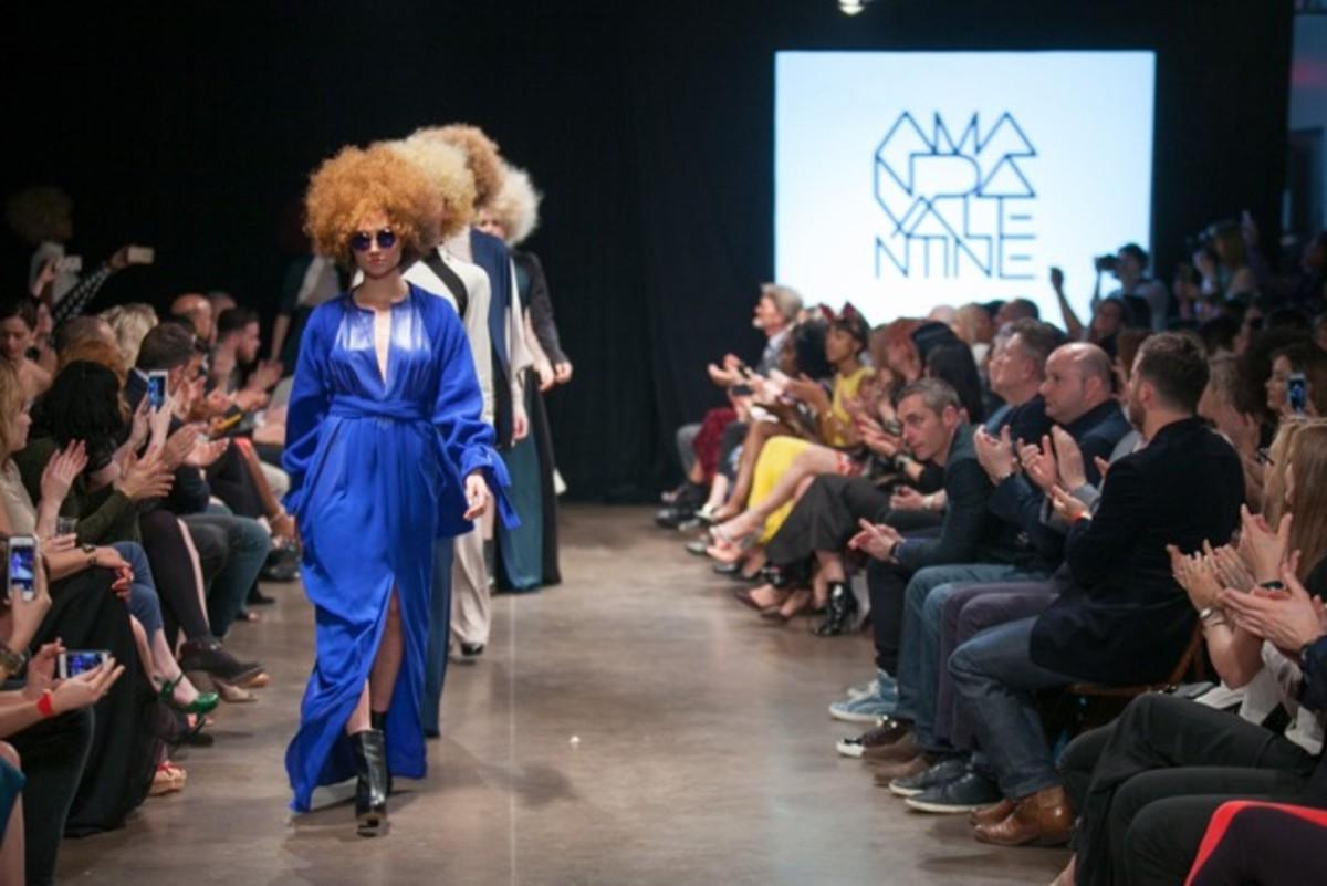 Amanda Valentine's fall 2015 runway presentation. Photo: Eric Winton for Nashville Fashion Week