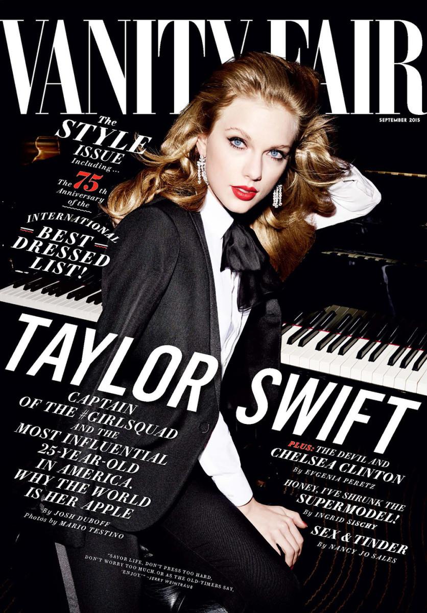 The September cover of Vanity Fair. Photo: Vanity Fair