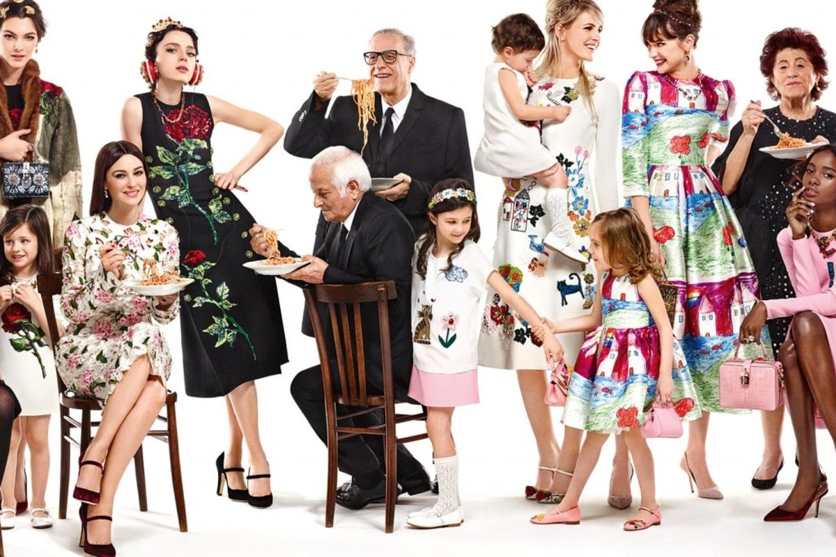 An image from the Dolce & Gabbana fall 2015 campaign. Photo: Domenico Dolce/Dolce & Gabbana