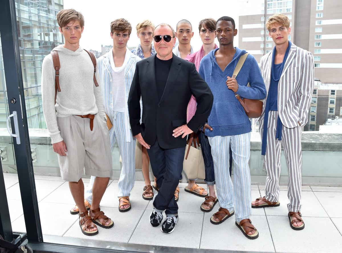 Michael Kors presents at New York Fashion Week: Men's. Photo: Michael Kors/Getty Images