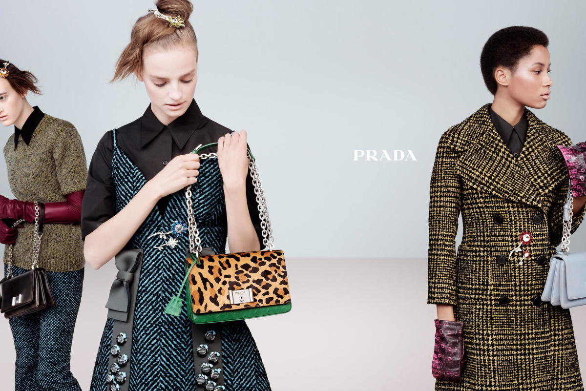 Prada's fall 2015 ad campaign.