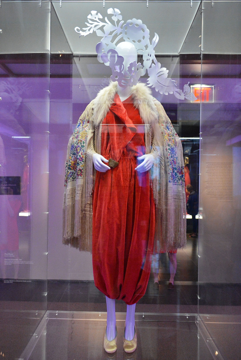 "A Paul Poiret look at the ""China: Through the Looking Glass"" exhibit, currently on view at the Met. Photo: Slaven Vlasic/Getty Images"