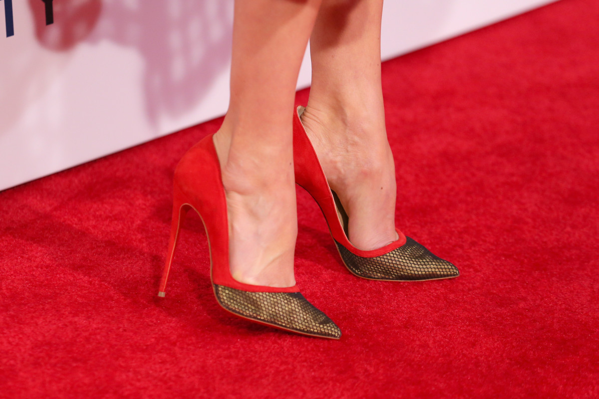 Actress Michelle Monaghan wears Christian Louboutin. Photo: Mark Davis/Getty Images