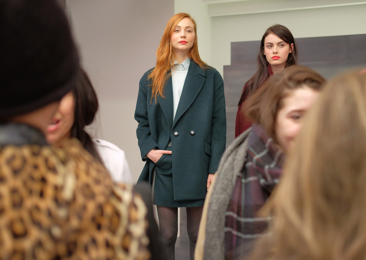 Banana Republic's fall 2015 presentation at New York Fashion Week in February. Photo: Jemal Countess/Getty Images