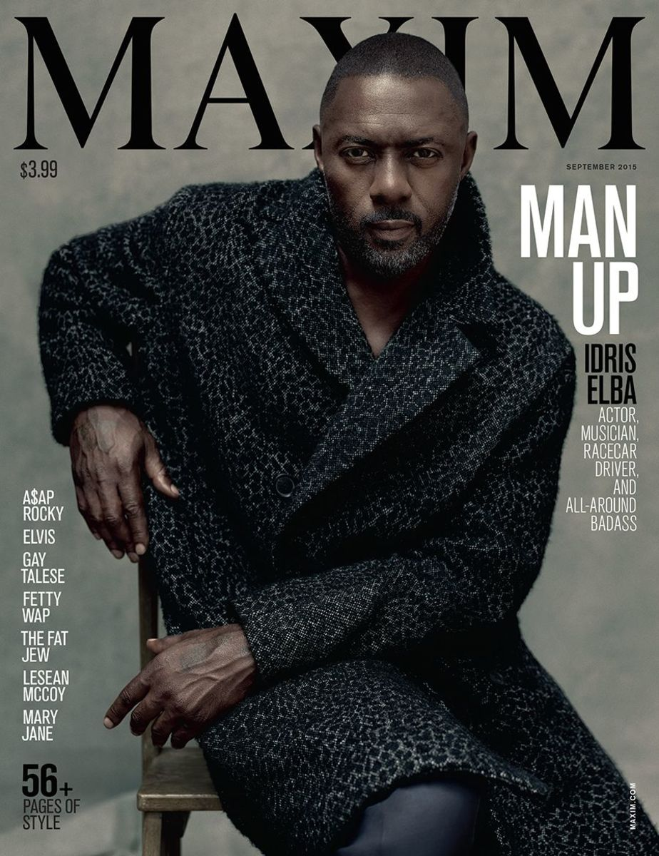 Idris Elba (Courtesy of Maxim)