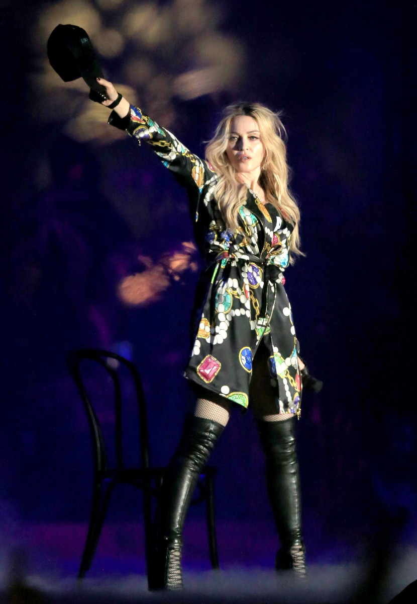 Madonna at the annual Coachella music festival this April. Photo: Christopher Polk/Getty Images for Coachella