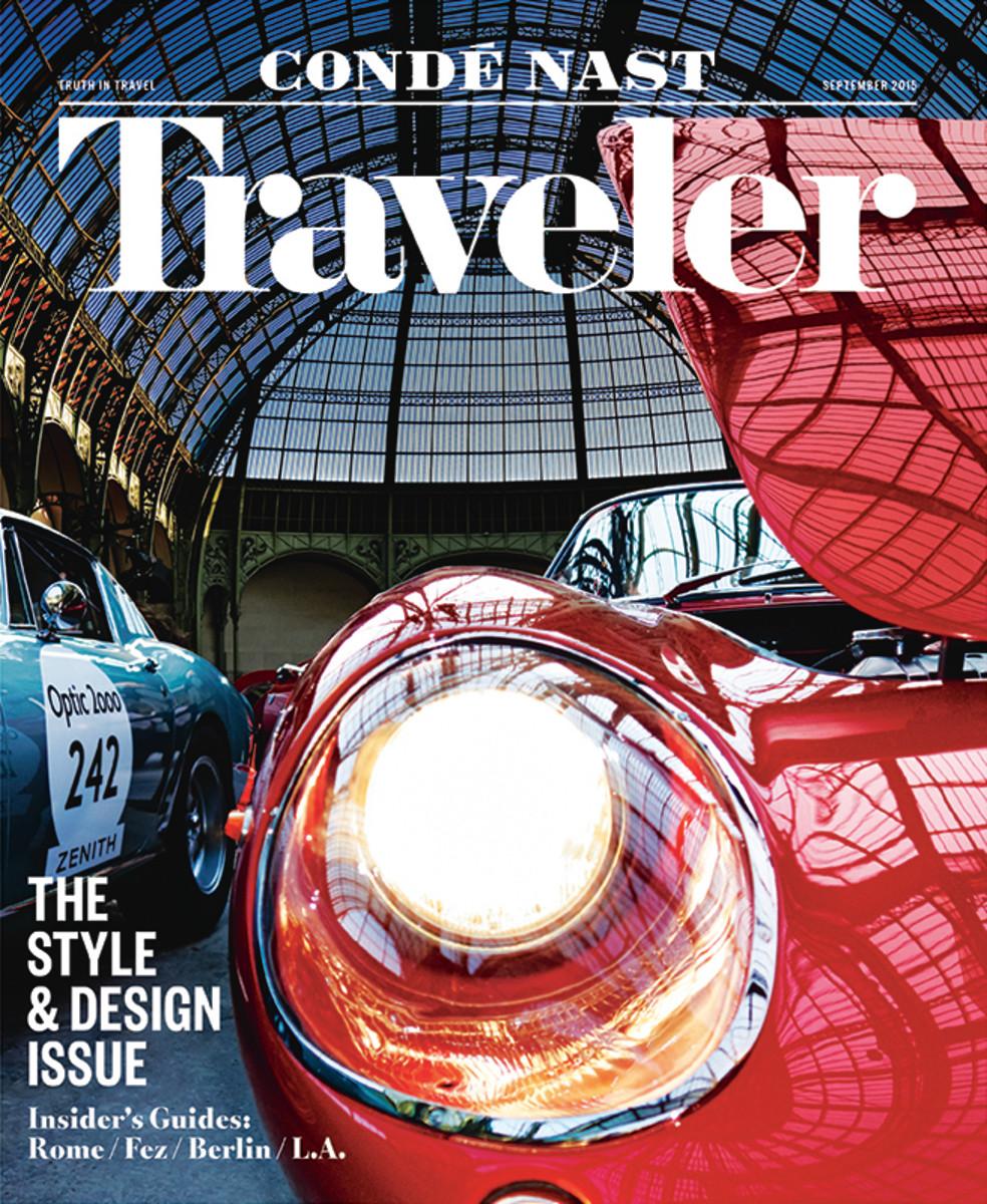'Condé Nast Traveler' September issue. Photo: 'Condé Nast Traveler'