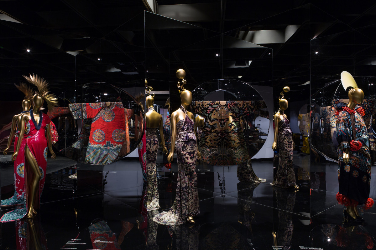 """China: Through the Looking Glass"" is on display at the Metropolitan Museum of Art's Costume Institute until Sept. 7. Photo: Metropolitan Museum of Art"