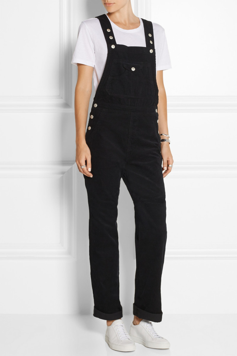 Alexa Chung for AG Jeans cotton-corduroy overalls, $325, available at Net-a-Porter.