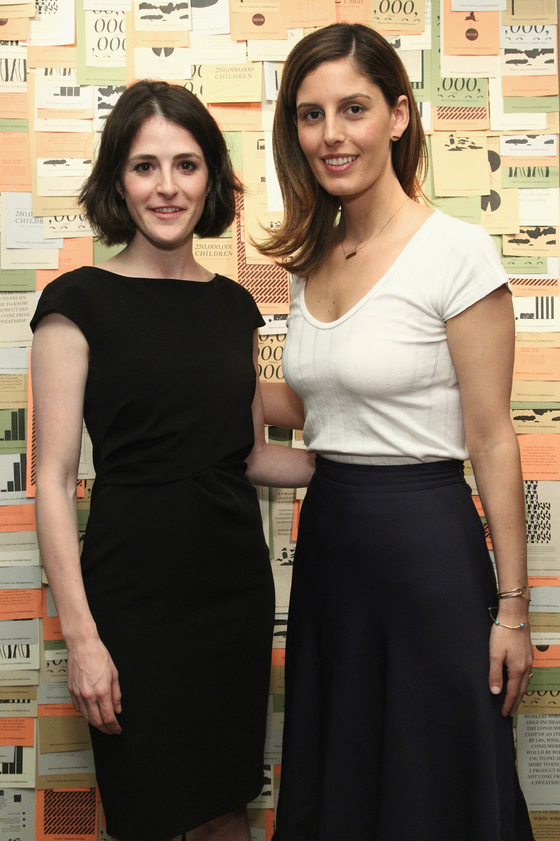Zady co-founders Maxine Bédat and Soraya Darabi. Photo: Astrid Stawiarz/Getty Images for Zady